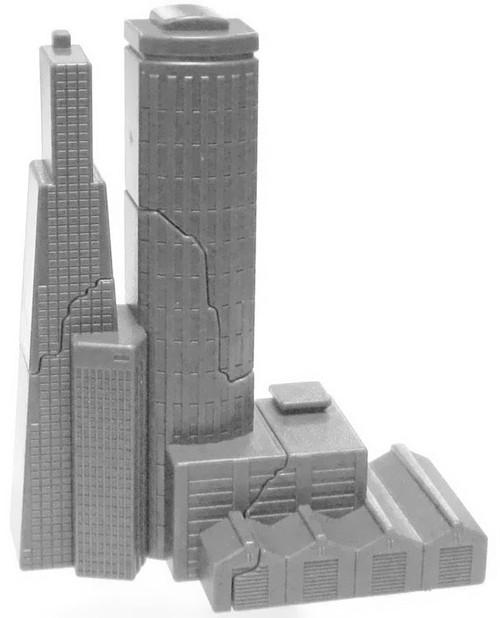 Godzilla 2014 Break-Apart Building 1 3-Inch Mini Figure Accessory