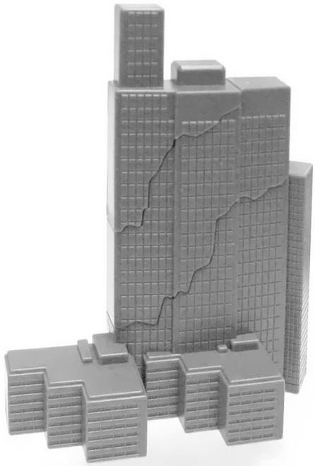 Godzilla 2014 Break-Apart Building 2 3-Inch Mini Figure Accessory