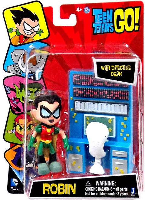 Teen Titans Go! Robin 3-Inch Mini Figure [Detective Desk]