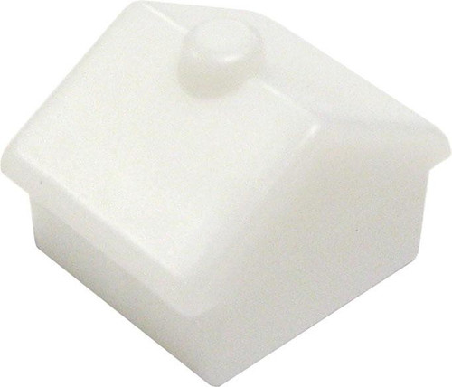 My Little Pony Monopoloy Parts 32 White Cottages 1 1/2-Inch [Loose]