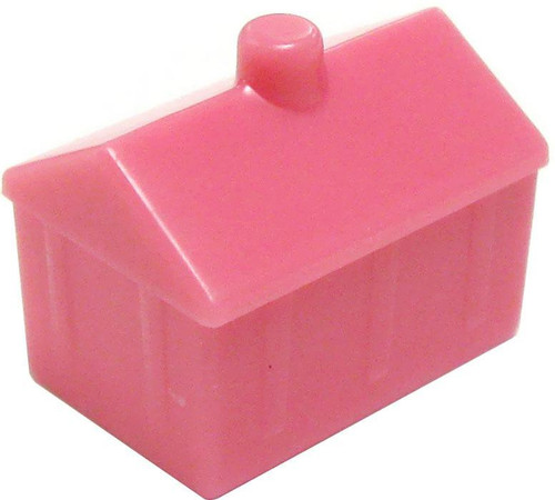 My Little Pony Monopoloy Parts 12 Pink Castles 1 1/2-Inch [Loose]