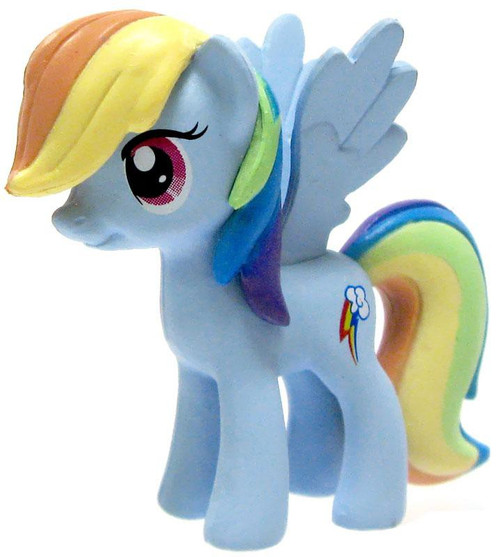My Little Pony Monopoloy Parts Rainbow Dash 1 1/2-Inch PVC Figure [Loose]