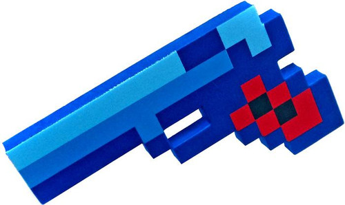 8-Bit Pixel Pistola Roleplay Toy [Blue]