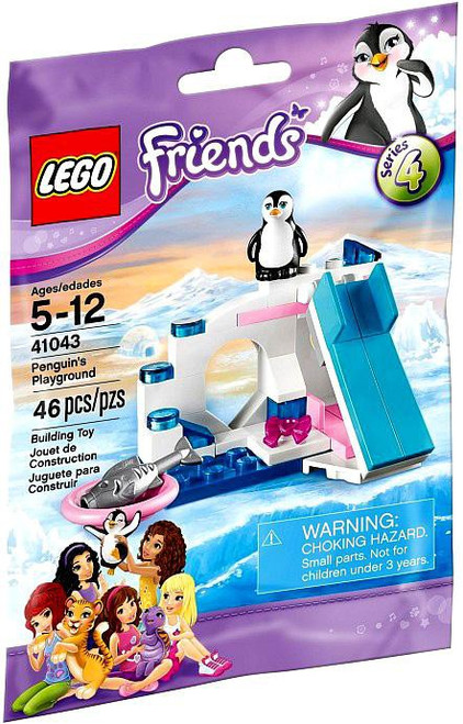 LEGO Friends Series 4 Penguin's Playground Mini Set #41043