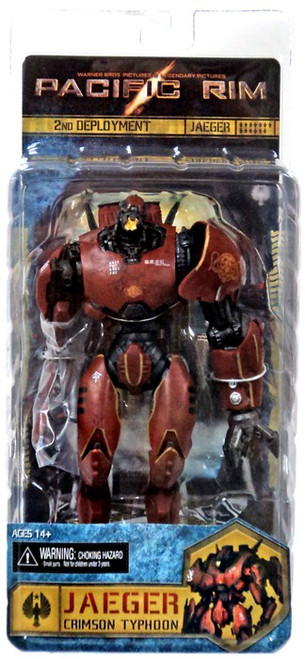 NECA Pacific Rim Re-Issue Crimson Typhoon Action Figure [Jaeger]