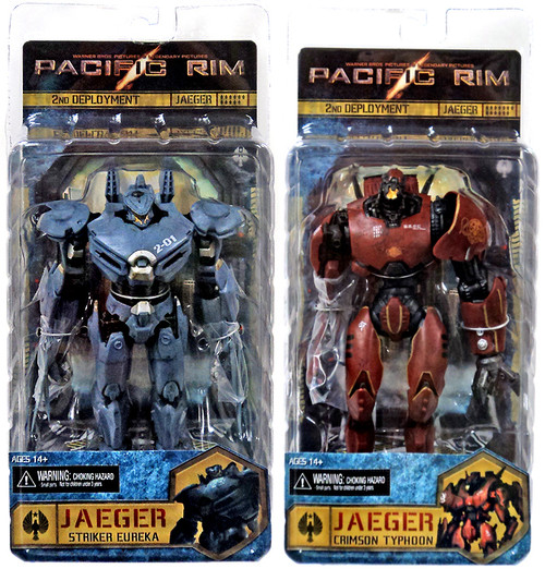 NECA Pacific Rim Re-Issue Set of 2 Action Figures
