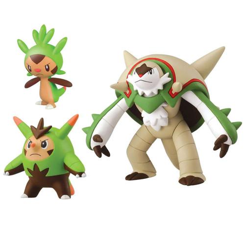 Pokemon xy evolution chespin quilladin chesnaught figure 3 pack tomy toywiz - Evolution pokemon xy ...