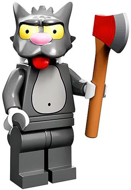 LEGO The Simpsons Simpsons Series 1 Scratchy Minifigure [Loose]
