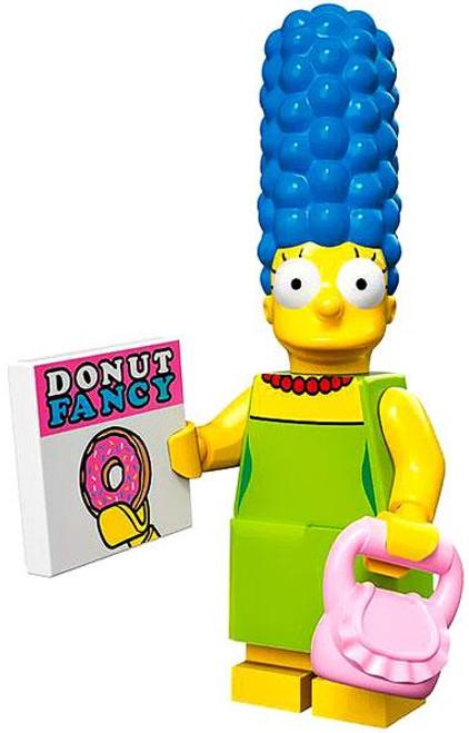 LEGO The Simpsons Simpsons Series 1 Marge Simpson Minifigure [Loose]