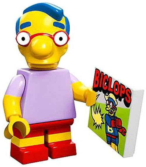 LEGO The Simpsons Simpsons Series 1 Milhouse Minifigure [Loose]