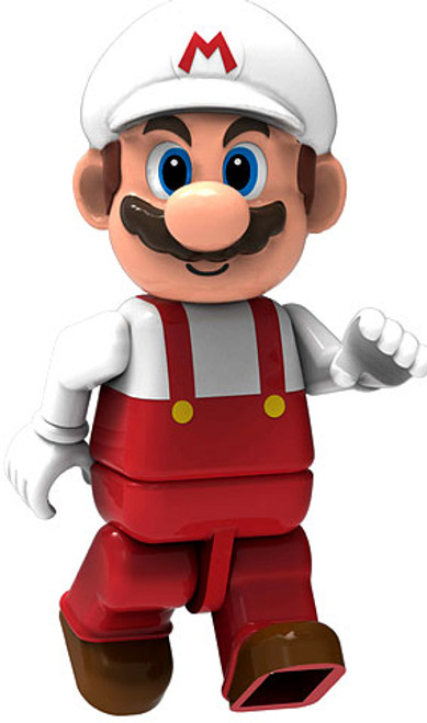 K'NEX Super Mario Fire Mario 2-Inch Minifigure [Loose]