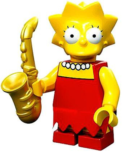 LEGO The Simpsons Simpsons Series 1 Lisa Simpson Minifigure [Loose]