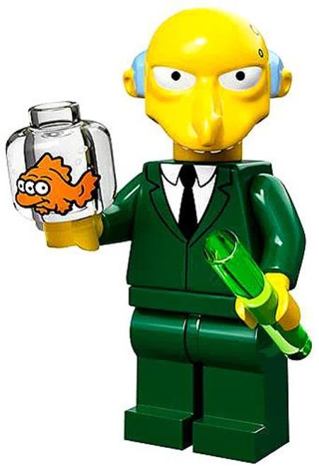 LEGO The Simpsons Simpsons Series 1 Mr. Burns Minifigure [Loose]