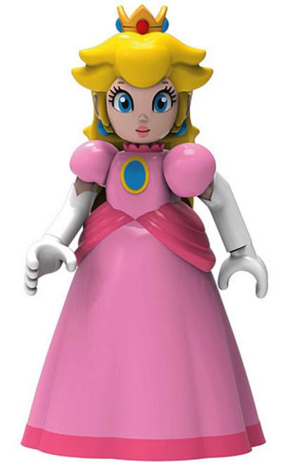 K'NEX Super Mario Princess Peach 2-Inch Minifigure [Pink Dress Loose]