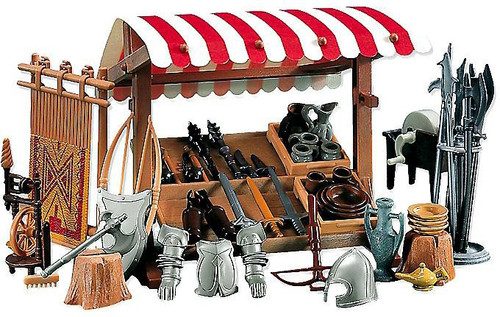 Playmobil Knights Market Stand Set #7855