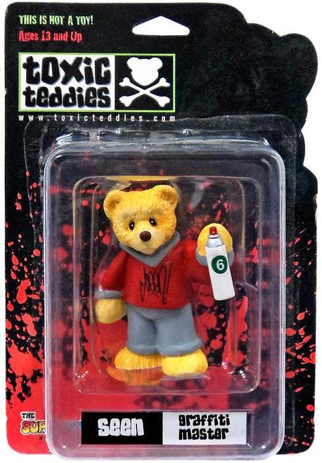 Toxic Teddies Seen Graffiti Master Mini Figure [Red]