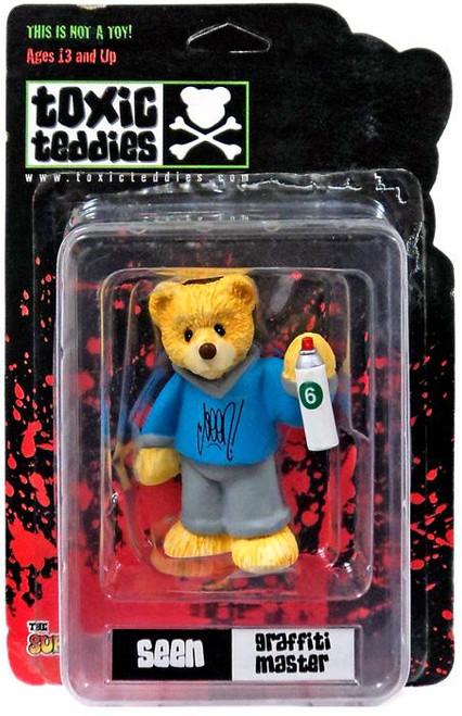 Toxic Teddies Seen Graffiti Master Mini Figure [Blue]