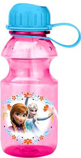 Disney Frozen 14 Oz Anna & Elsa Tritan Water Bottle [Pink]