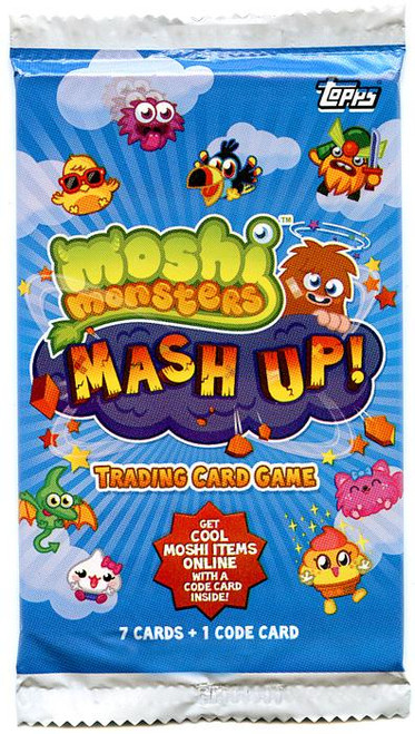 Moshi Monsters Trading Card Game Mash Up! Booster Pack