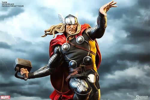 Marvel Premium Format Polystone Modern Thor Statue