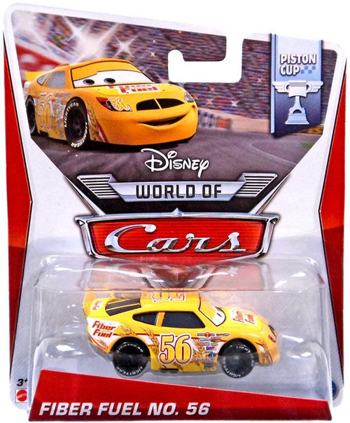 Disney Cars The World of Cars Fiber Fuel No. 56 Diecast Car #13