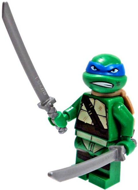 LEGO Teenage Mutant Ninja Turtles Nickelodeon Leonardo & Swords Minifigure [Loose]
