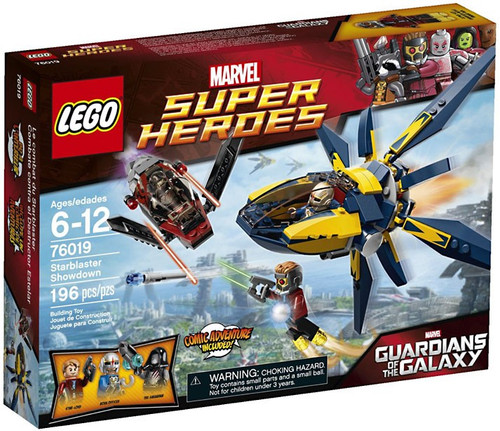 LEGO Marvel Super Heroes Guardians of the Galaxy Starblaster Showdown Set #76019