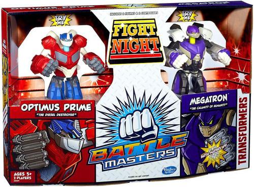 Transformers Battle Masters Fight Night Action Figure 2-Pack