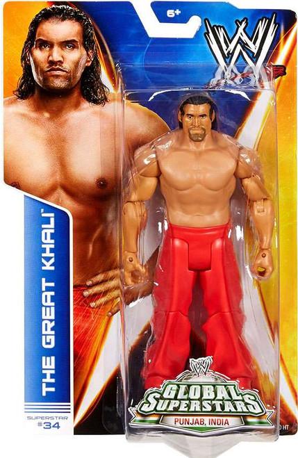 WWE Wrestling Series 40 Great Khali Action Figure #34