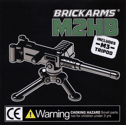 BrickArms Weapons M2HB with Tripod 2.5-Inch