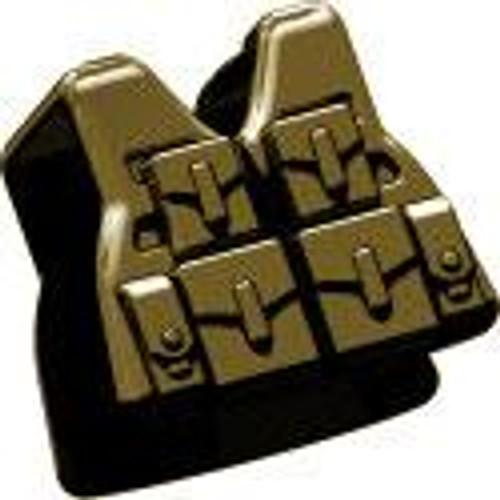 BrickArms Combat Vest LCV SAW 2.5-Inch [Dark Tan]