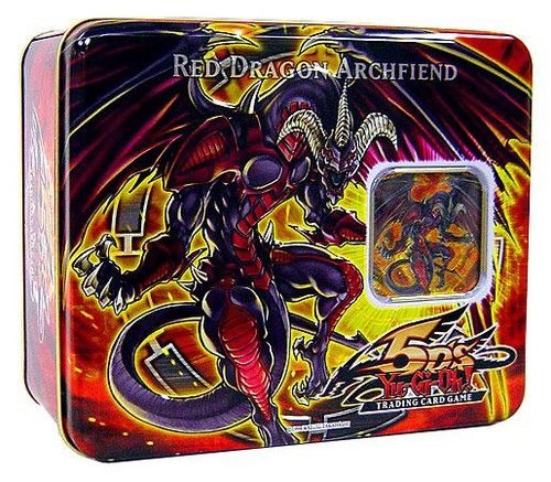 YuGiOh 5D's 2008 Collector Tin Red Dragon Archfiend Collector Tin [Sealed]