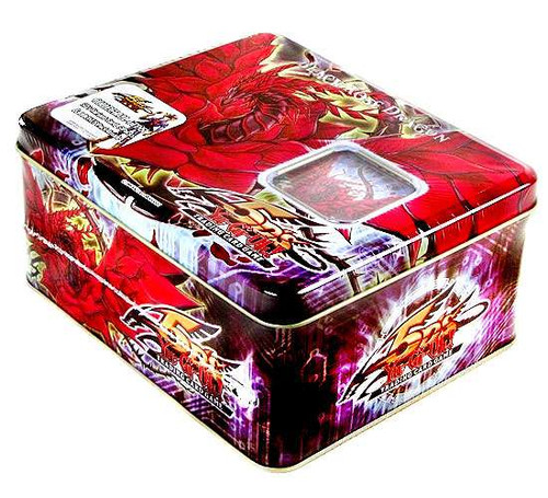 YuGiOh 5D's 2008 Collector Tin Black Rose Dragon Collector Tin [Sealed]