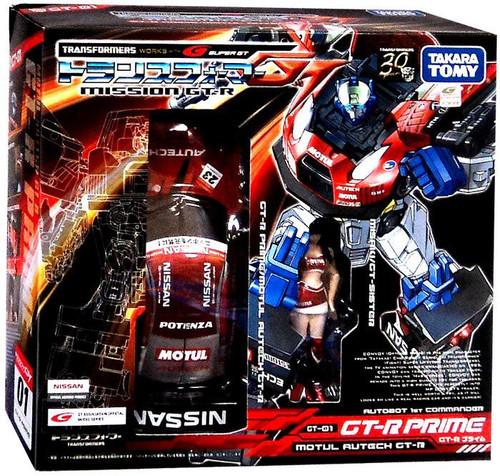 Transformers Japanese Mission GT-R Nissan GT-R Prime Action Figure GT-01