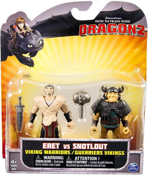 Warriors The New Prophecy Set The Complete Second Series: How To Train Your Dragon 2 Eret Vs. Snotlout Action Figure