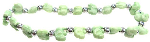 Elephantz Green Elephants Bracelet