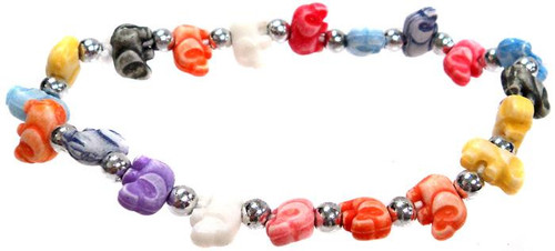 Elephantz Rainbow Elephants Bracelet