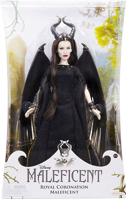 Disney Enchanted Collector Royal Coronation Maleficent 12-Inch Doll