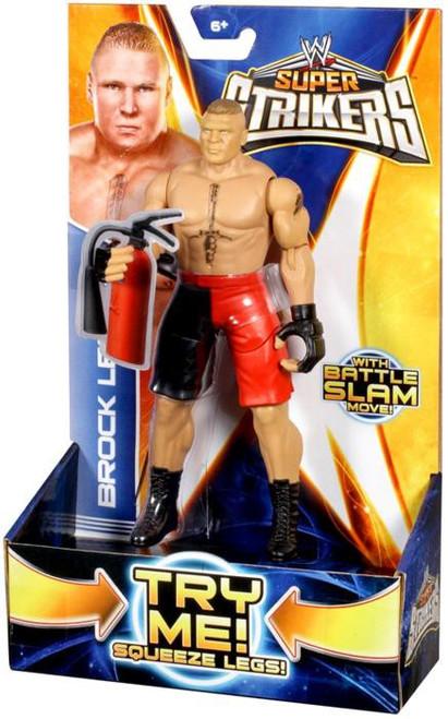 WWE Wrestling Super Strikers Brock Lesnar Action Figure