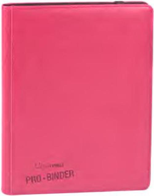 Ultra Pro Card Supplies Premium Pro-Binder Bright Pink 9-Pocket Binder