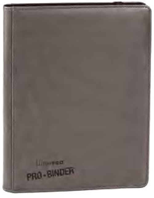 Ultra Pro Card Supplies Premium Pro-Binder Gray 9-Pocket Binder