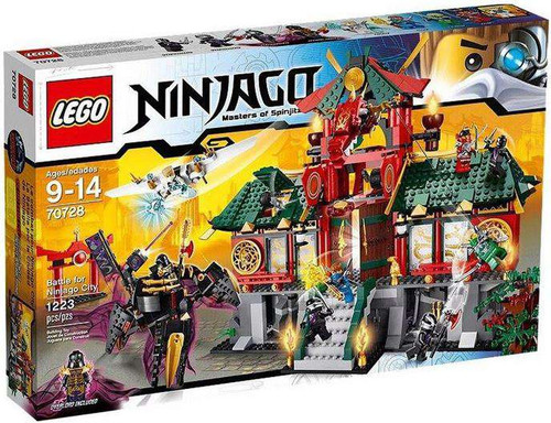 LEGO Rebooted Battle for Ninjago City Set #70728