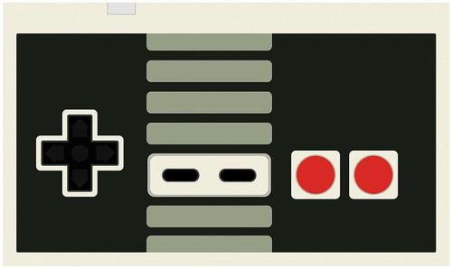 Card Supplies NES Controller Play Mat