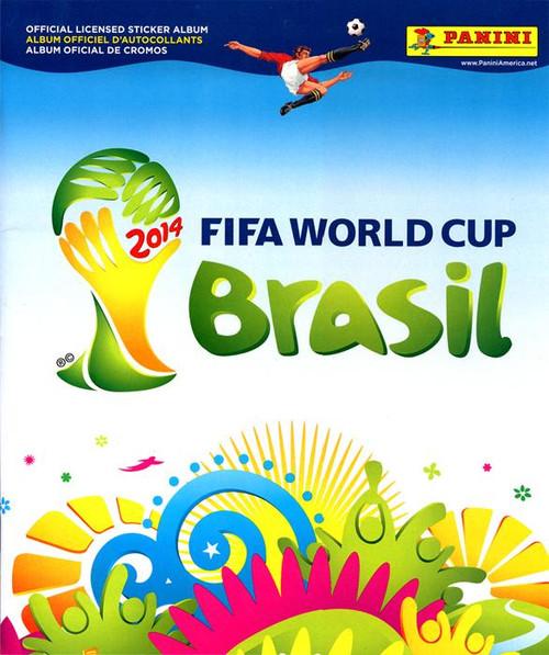 2014 Brazil 2014 Fifa World Cup Brasil Sticker Album