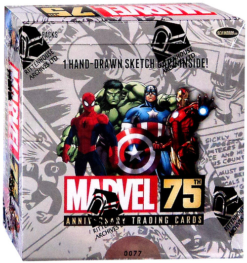 Marvel 75th Anniversary Trading Card Box