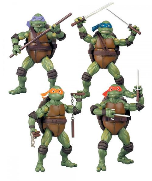 Teenage Mutant Ninja Turtles Classic Movie Series Set of 4 Exclusive Classics Movie Action Figures Exclusive Action Figure Set