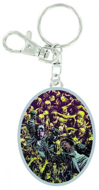 The Walking Dead Zombie Mob Keychain