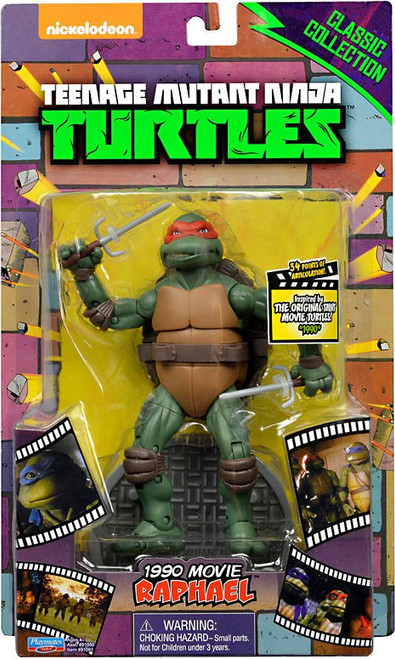 Teenage Mutant Ninja Turtles Classic Movie Series Raphael Exclusive Action Figure