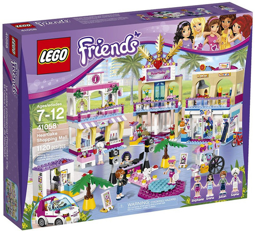 LEGO Friends Heartlake Shopping Mall Set #41058