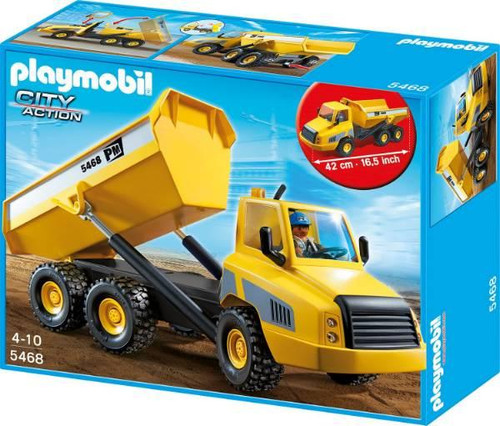 Playmobil City Action Industrial Dump Truck Set #5468